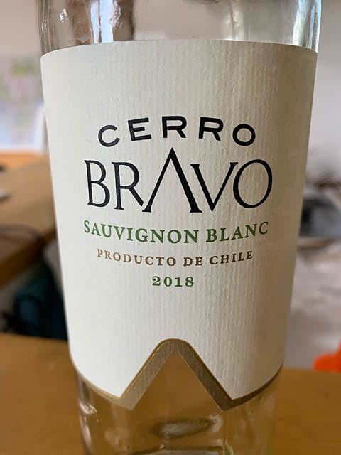 Cerro Bravo Sauvignon Blanc(セロ・ブラヴォ ソーヴィニヨン・ブラン)