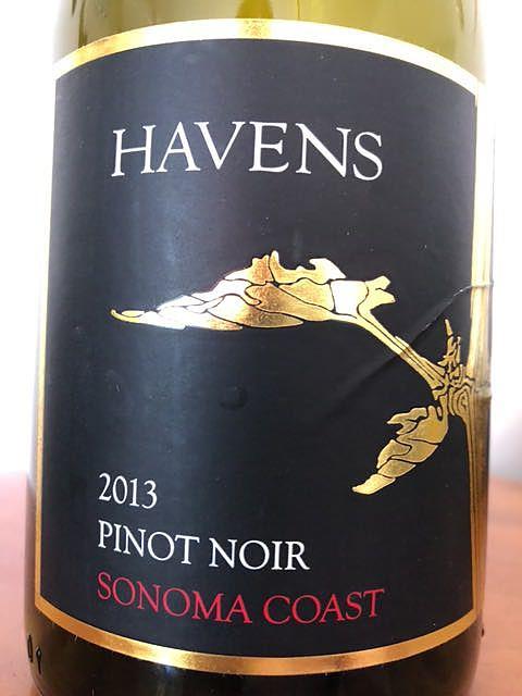 Havens Pinot Noir Sonoma Coast(ヘイヴンズ ピノ・ノワール ソノマ・コースト)