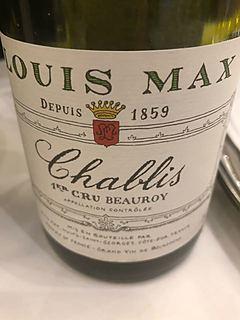 Louis Max Chablis 1er Cru Beauroy(ルイ・マックス シャブリ プルミエ・クリュ ボーロワ)