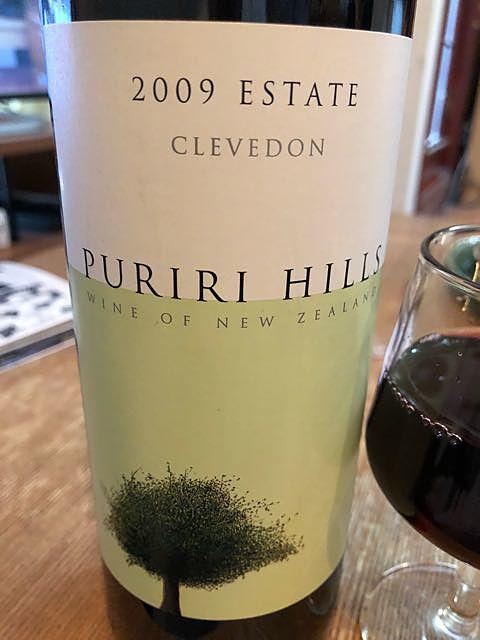 Puriri Hills Estate 2009(プリリ・ヒルズ エステート)