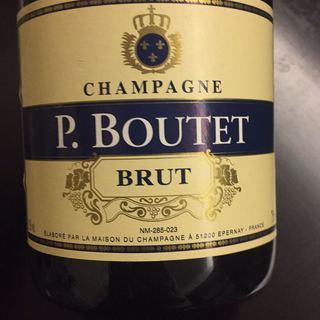 champagne p boutet brut