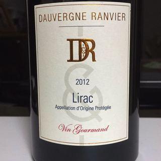 Dauvergne Ranvier Lirac Vin Gourmand Rouge