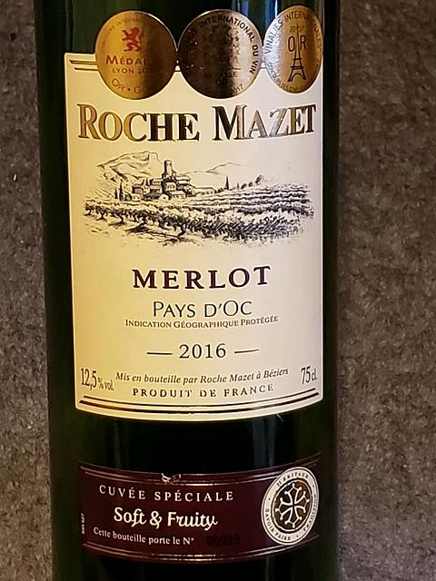 Roche Mazet Merlot(ロシュ・マゼ メルロ)