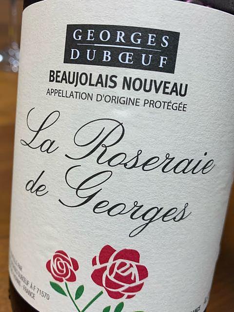 Georges Duboeuf Beaujolais Nouveau La Roseraie de Georges