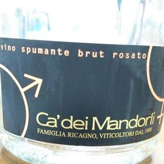 Ca'dei Mandorli Vino Spumante Brut Rosato(カ・デイ・マンドルリ ヴィーノ・スプマンテ ブリュット ロザート)