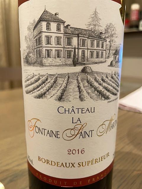 Ch. la Fontaine Saint Martin Bordeaux Supérieur(シャトー・ラ・フォンターニュ・サン・マルタン)