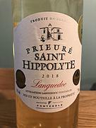Fontésole Prieuré Saint Hippolyte Blanc