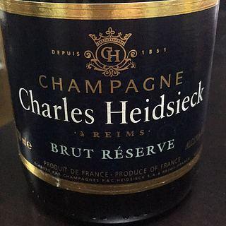 Charles Heidsieck Brut Réserve Mises en Cave
