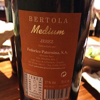 Bertola Medium Sherry
