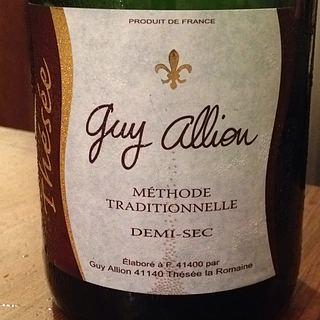 Guy Allion Vin Mousseux de Qualite Rouge Demi Sec