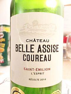 Ch. Belle Assise Coureau L'Esprit(シャトー・ベル・アシーズ・クォー レスプリ)