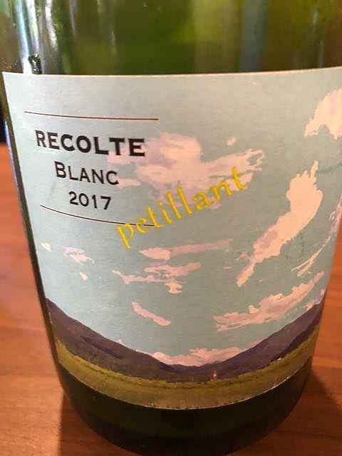 ヒトミワイナリー Recolte Blanc Petillant(レコルト ブラン ペティアン)
