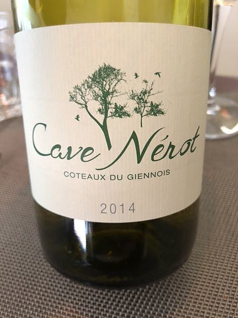Cave Nerot Coteaux du Giennois Blanc(カーヴ・ネロ コトー・デュ・ジェノワ ブラン)