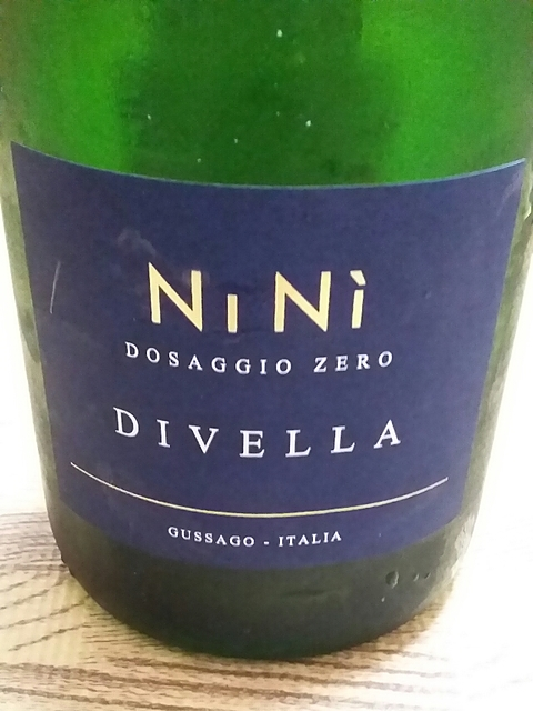 Divella Ninì Dosaggio Zero(ディヴェッラ ニーニ ドサッジョ・ゼロ)