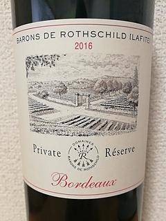 Barons de Rothschild Bordeaux Private Réserve Rouge