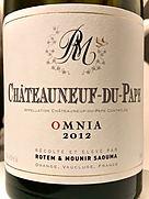Rotem & Mounir Saouma Châteauneuf du Pape Omnia(2012)