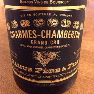 Camus Père & Fils Charmes Chambertin Grand Cru