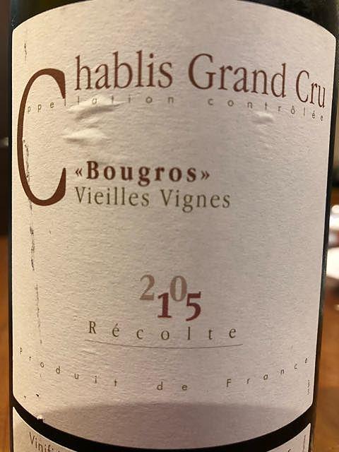 Jean Rijckaert Chablis Grand Cru Bougros Vieilles Vignes
