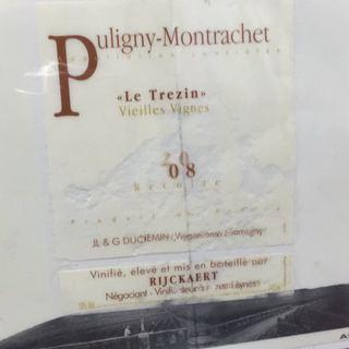 Jean Rijckaert Puligny Montrachet Le Trezin Vieilles Vignes