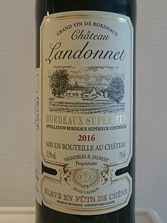 Ch. Landonnet Bordeaux Supérieur(シャトー・ランドネ ボルドー・シュペリュール)