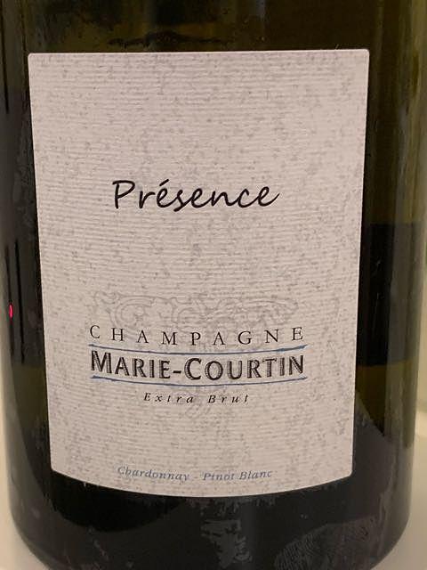 Marie Courtin Présence Extra Brut