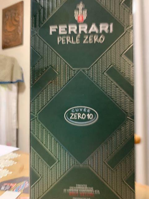 Ferrari Perlé Zero Cuvée Zero 10