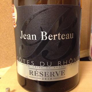 Jean Berteau Côtes du Rhône Réserve Rouge