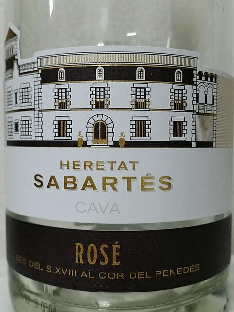 Heretat Sabartés Cava Brut Rosé