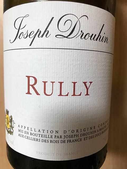 Joseph Drouhin Rully Rouge(ジョゼフ・ドルーアン リュリィ ルージュ)