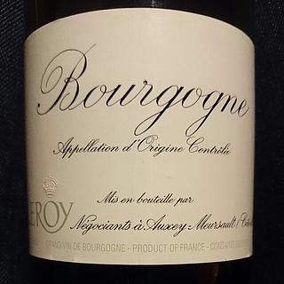 Maison Leroy Bourgogne Rouge(メゾン・ルロワ ブルゴーニュ ルージュ)
