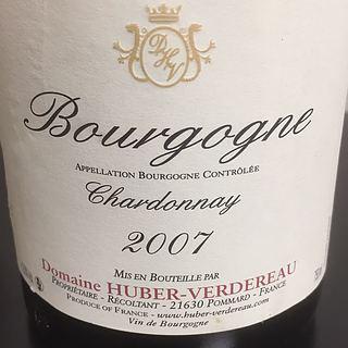 Dom. Huber Verdereau Bourgogne Chardonnay(ドメーヌ・ユベール・ヴェルドロー ブルゴーニュ シャルドネ)