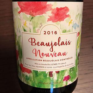 Aujoux Beaujolais Nouveau