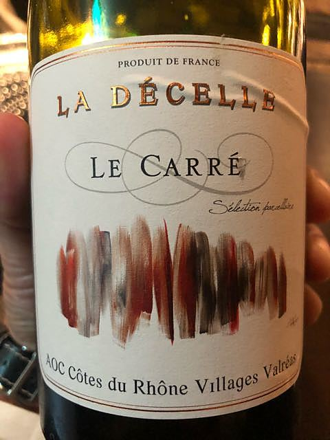 Dom. La Décelle Le Carré Côtes du Rhône Villages Valréas