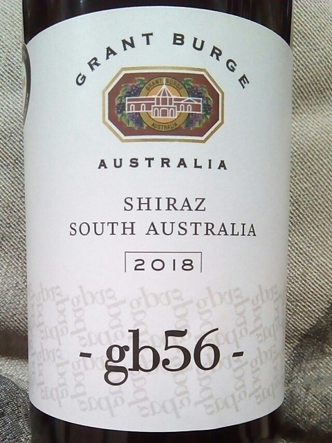 Grant Burge gb56 Shiraz