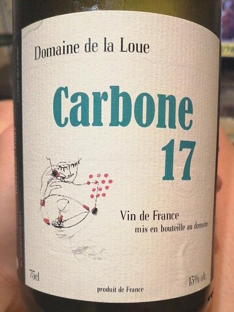Dom. de la Loue Carbone(ドメーヌ・ドゥ・ラ・ルー カルボンヌ)