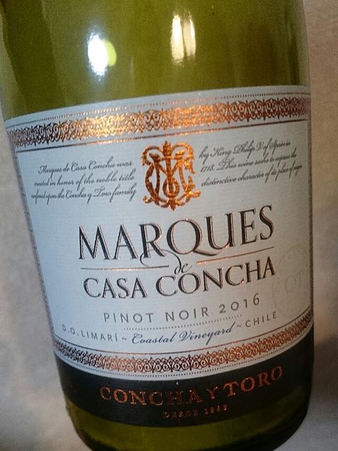 Marques de Casa Concha Pinot Noir