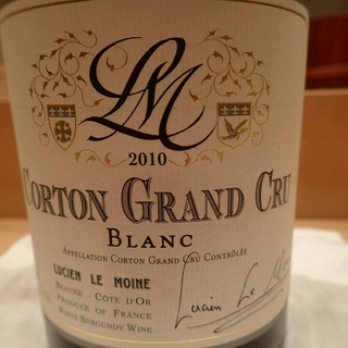 Lucien Le Moine Corton Grand Cru Blanc