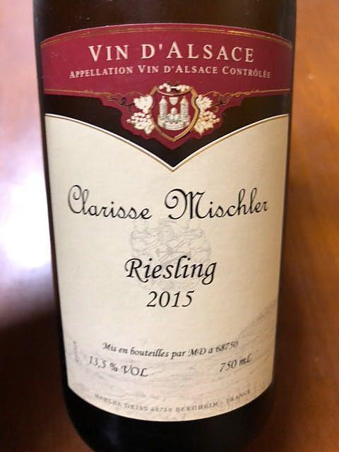 Clarisse Mischler Riesling