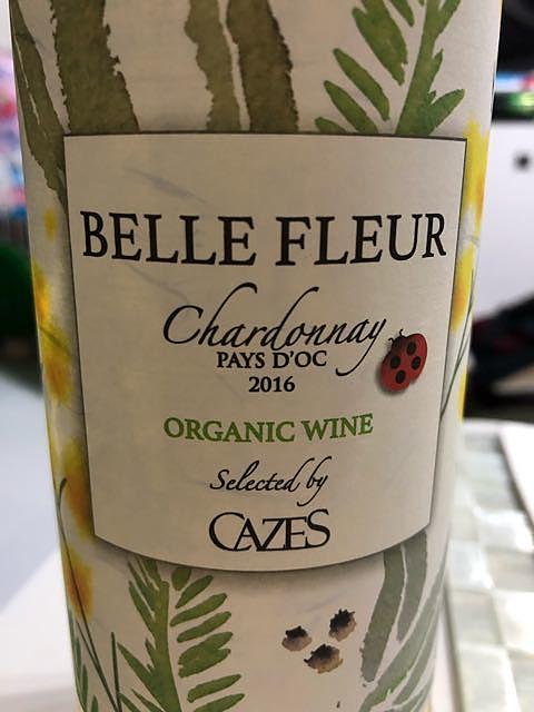 Cazes Belle Fleur Chardonnay Organic(カーズ ベル・フルール シャルドネ オーガニック)