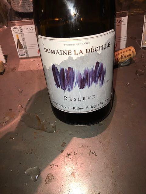 Dom. La Décelle Reserve Blanc Côtes du Rhône Villages Valréas