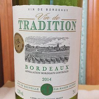 Maison Jaubert Vin de Tradition Bordeaux Blanc