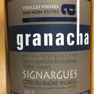 La Granacha Signargues Vieilles Vignes