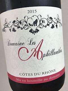 Dom. Les Aphillanthes Côtes du Rhône Rouge