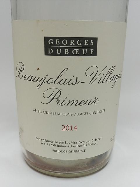 Georges Duboeuf Beaujolais Villages Primeur