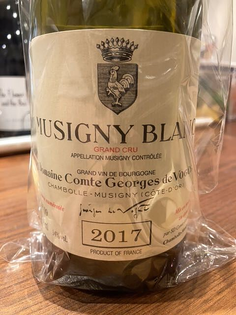 Dom. Comte Georges de Vogüé Musigny Blanc Grand Cru(ドメーヌ・コント・ジョルジュ・ド・ヴォギュエ ミュジニー・ブラン グラン・クリュ)