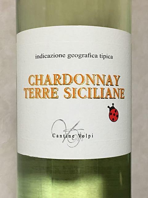 Cantine Volpi Chardonnay Terre Siciliane(カンティーネ ・ヴォルピ シャルドネ テッレ・シチリアーネ)