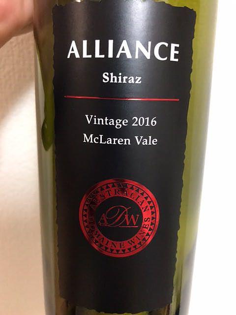 Alliance Shiraz