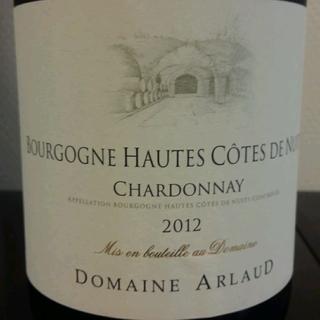 Dom. Arlaud Bourgogne Haute Côte de Nuits Chardonnay