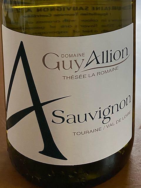 Dom. Guy Allion Sauvignon A