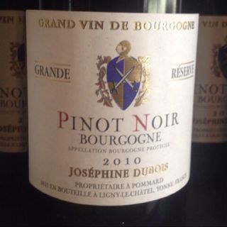 Joséphine Dubois Bourgogne Pinot Noir